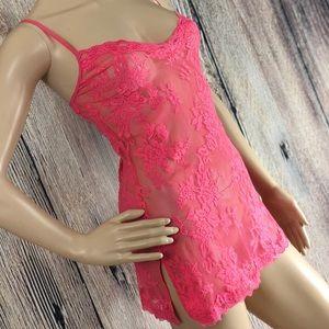 Victoria's Secret | Pink Lace Lingerie | XS